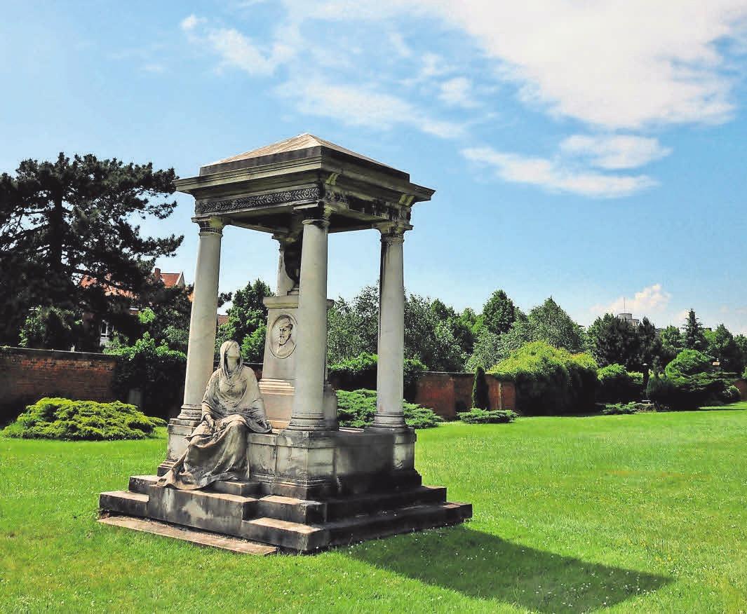 Der Friedhof soll ein Ort der Begegnung sein.