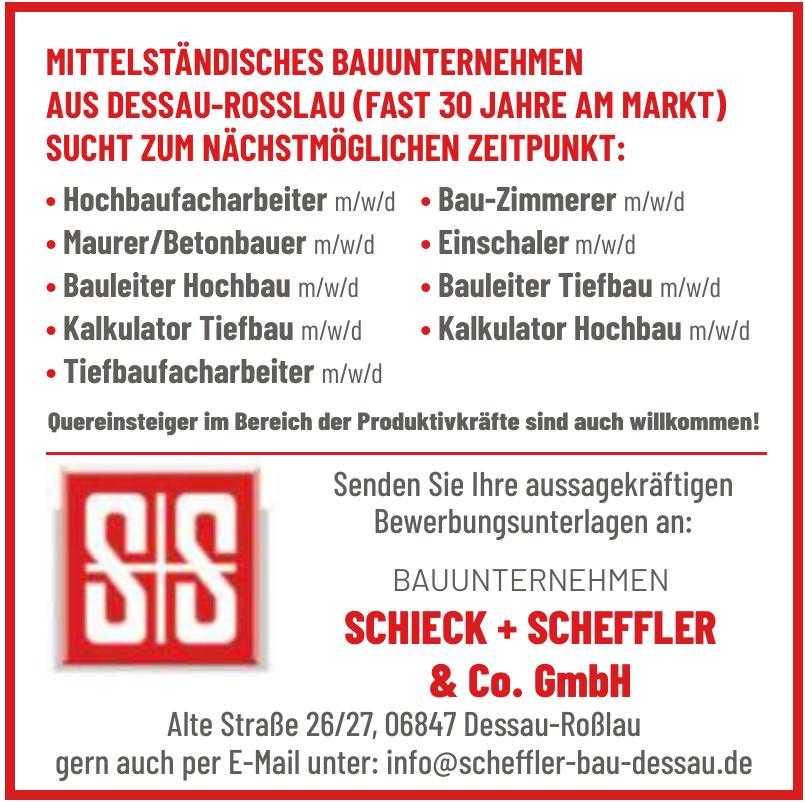Bauunternehmen Schieck + Scheffler & Co. GmbH
