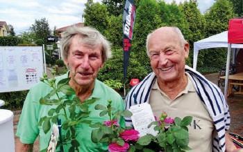 Herren 80: v.l. Heinz Gerlach und Hans Jürgen Steenfatt