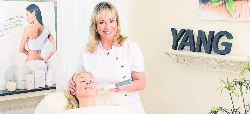Ausgezeichnet: Das Institut Beauty Kosmetik Langkop macht die Haut mit apparativen Kosmetikbehandlungen wie Face-Filling frühlingsfit.