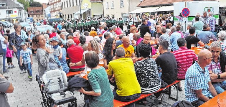 Hofheimer Werbewoche: Das bedeutet viel Musik und Volksfeststimmung.