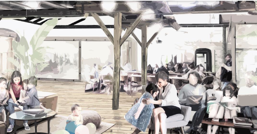 In Erndtebrück entsteht auf dem historischen Gelände eines alten Sägewerks eine neue Dorfgemeinschaft. Hier treffen Gemeinschaft, Nachhaltigkeit und gegenseitige Unterstützung auf neue Formen des Wohnens und Arbeitens. (Foto: KoDorf)