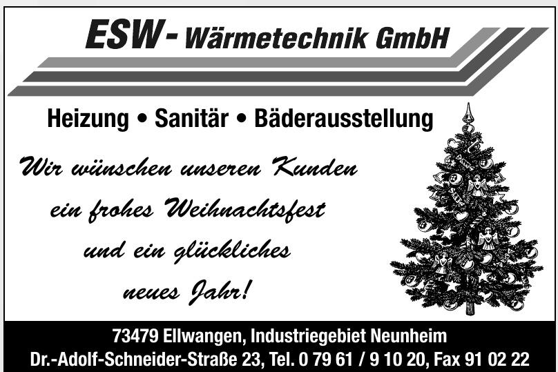 ESW-Wärmetechnik GmbH