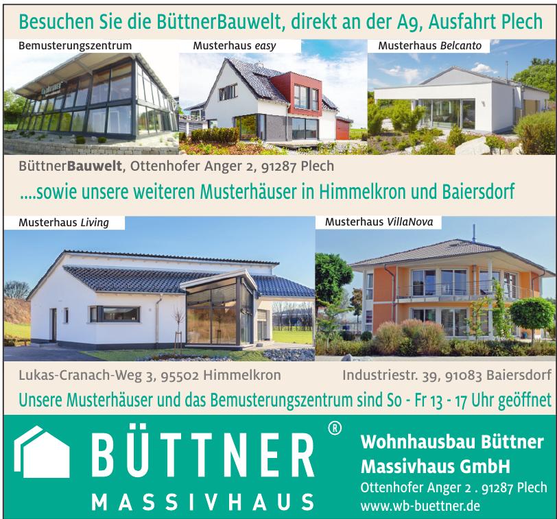 Wohnhausbau Büttner Massivhaus GmbH