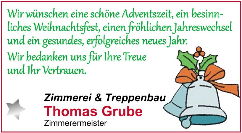 Zimmerei & Treppenbau Thomas Grube
