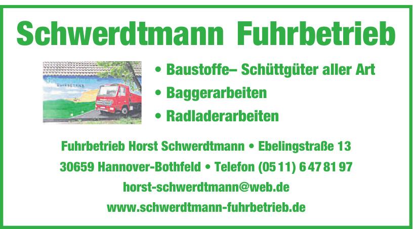 Fuhrbetrieb Horst Schwerdtmann