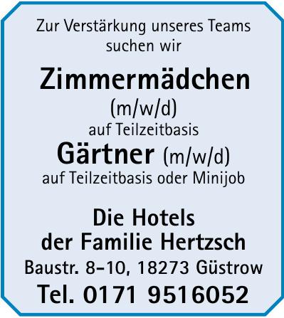 Die Hotels der Familie Hertzsch