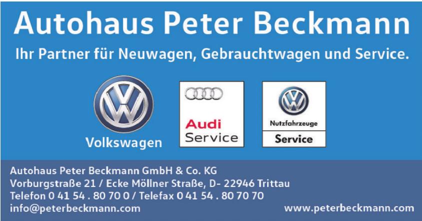 Autohaus Peter Beckmann GmbH & Co. KG