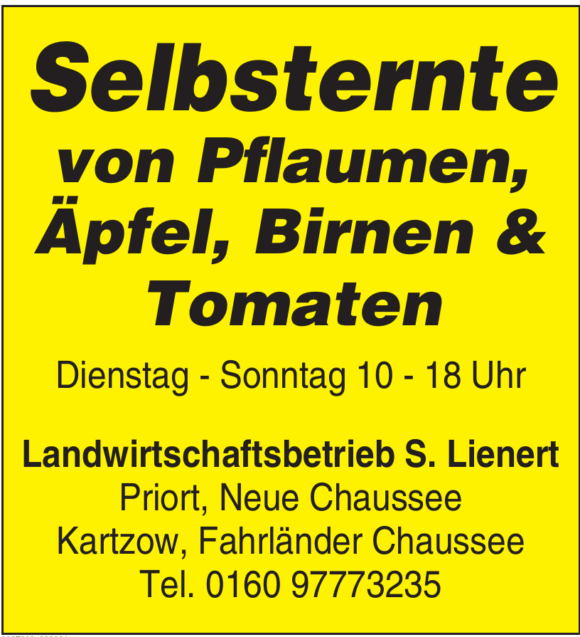 Landwirtschaftsbetrieb S. Leinert