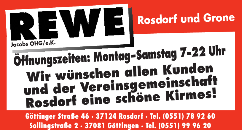 Rewe Jacobs OHG/e.K.