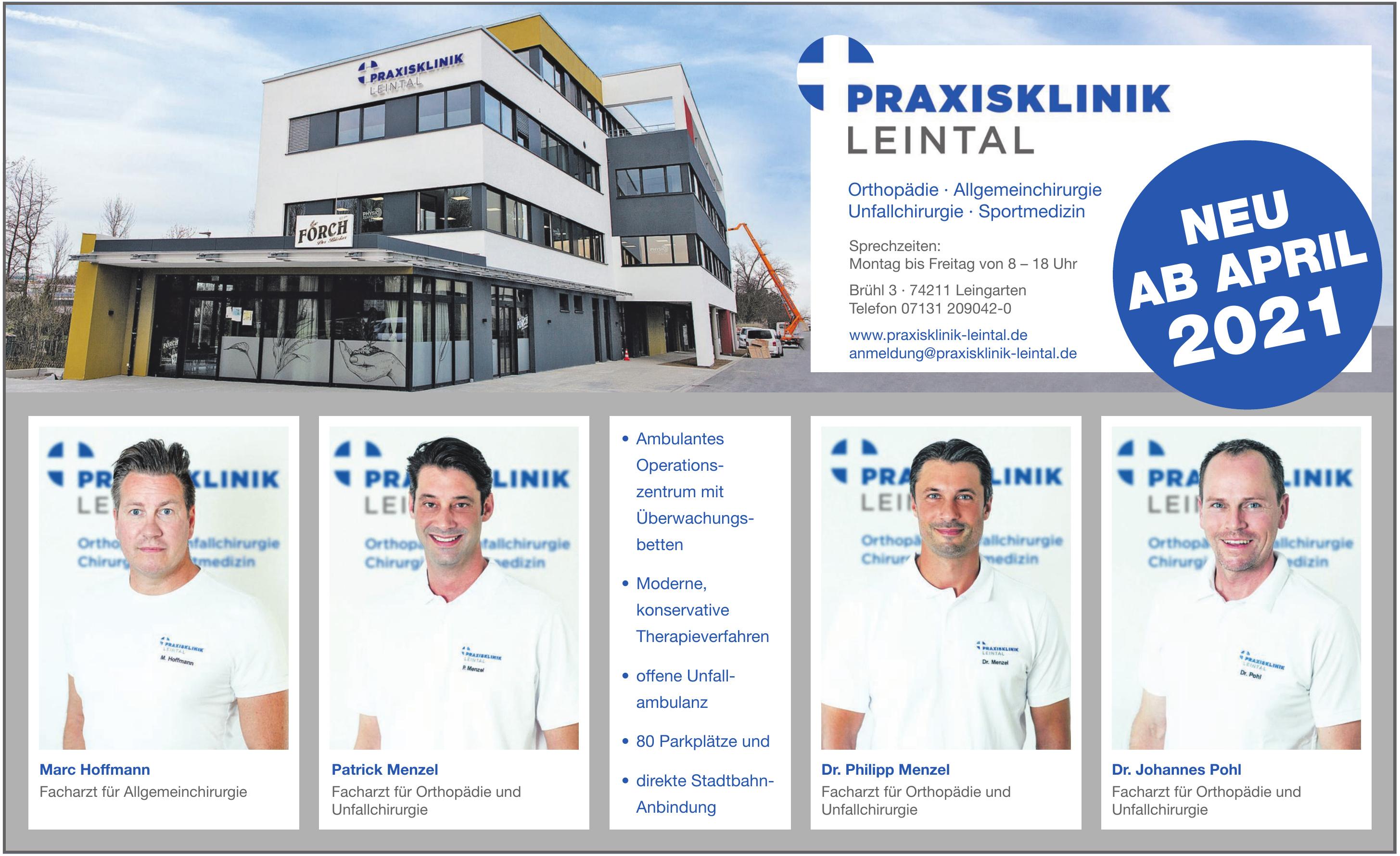 Praxisklinik Leintal