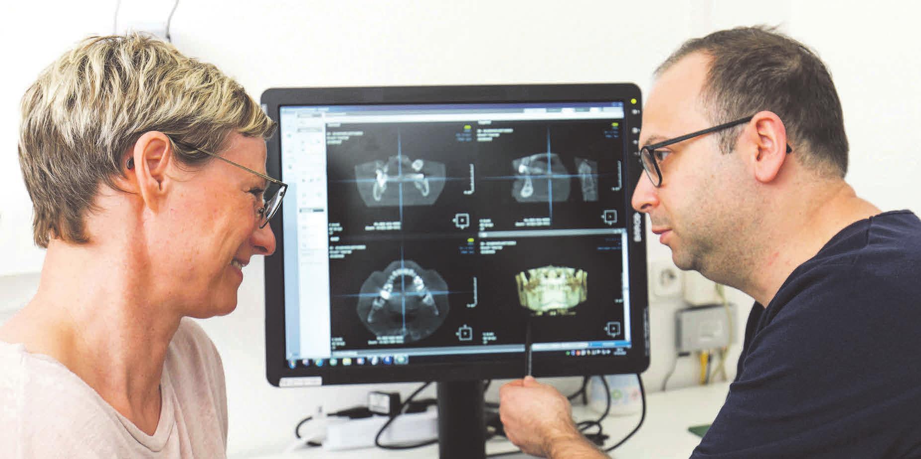 Zahnarzt Ghais Issa legt großen Wert auf Patientengespräche. Foto: privat
