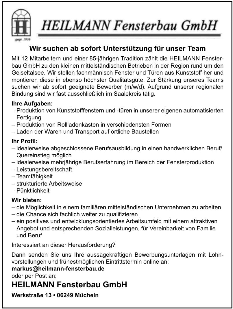 Heilmann Fensterbau GmbH