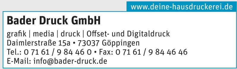 Bader Druck GmbH