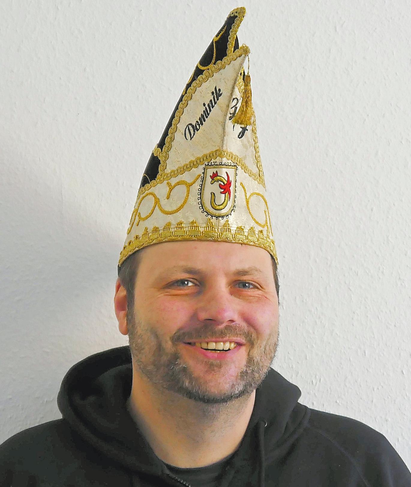 Dominik Isermann ist seit 2016 Präsident der Schwarz-Gelben Funken. Foto: Silke Diecksmeier