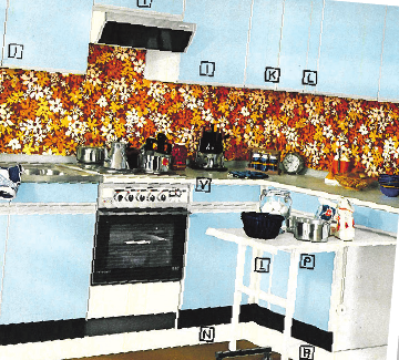 ...für die nach dem Lego-Prinzip gefertigten Produkte heute und vor 50 Jahren, die Otto-Küche