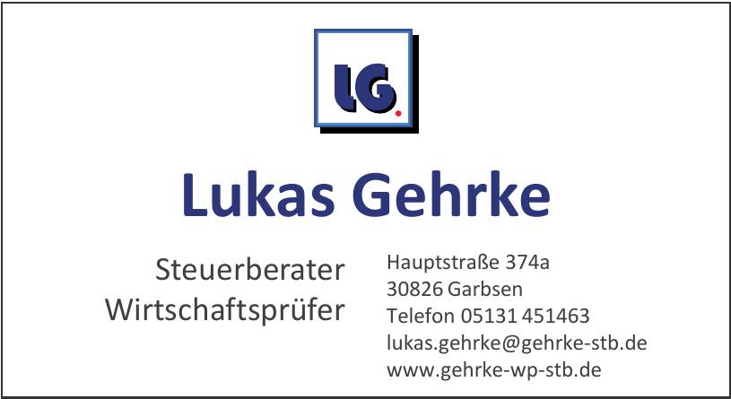 Lukas Gehrke Steuerberater, Wirtschaftsprüfer