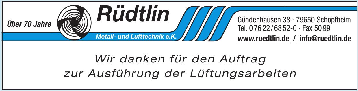 Rüdtlin Metall- und Lufttechnik e.K.