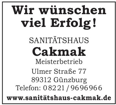 Sanitätshaus Cakmak Meisterbetrieb