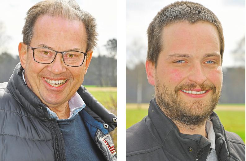 Josef Pieper (links) und Michael Sautmann wollen die Feier mit ihren 16 Mitarbeitern nachholen.