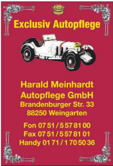 Harald Meinhardt Autopflege GmbH