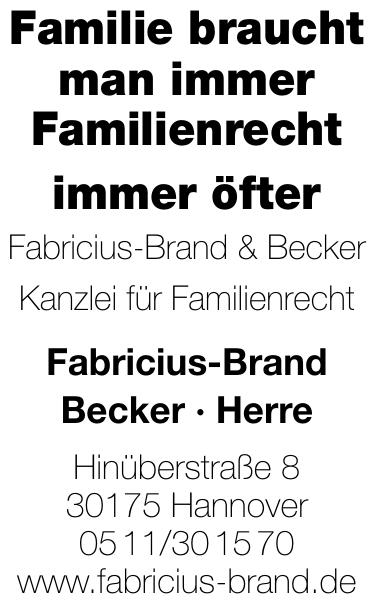 Rechtsanwaltskanzlei Fabricius-Brand & Becker