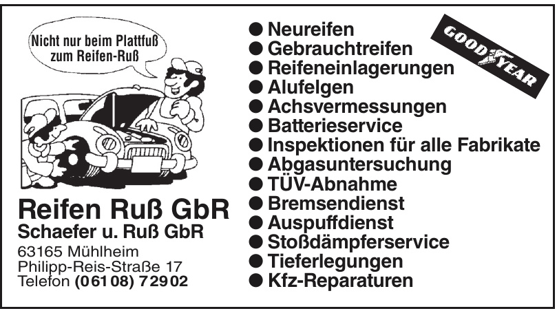 Reifen Ruß GbR