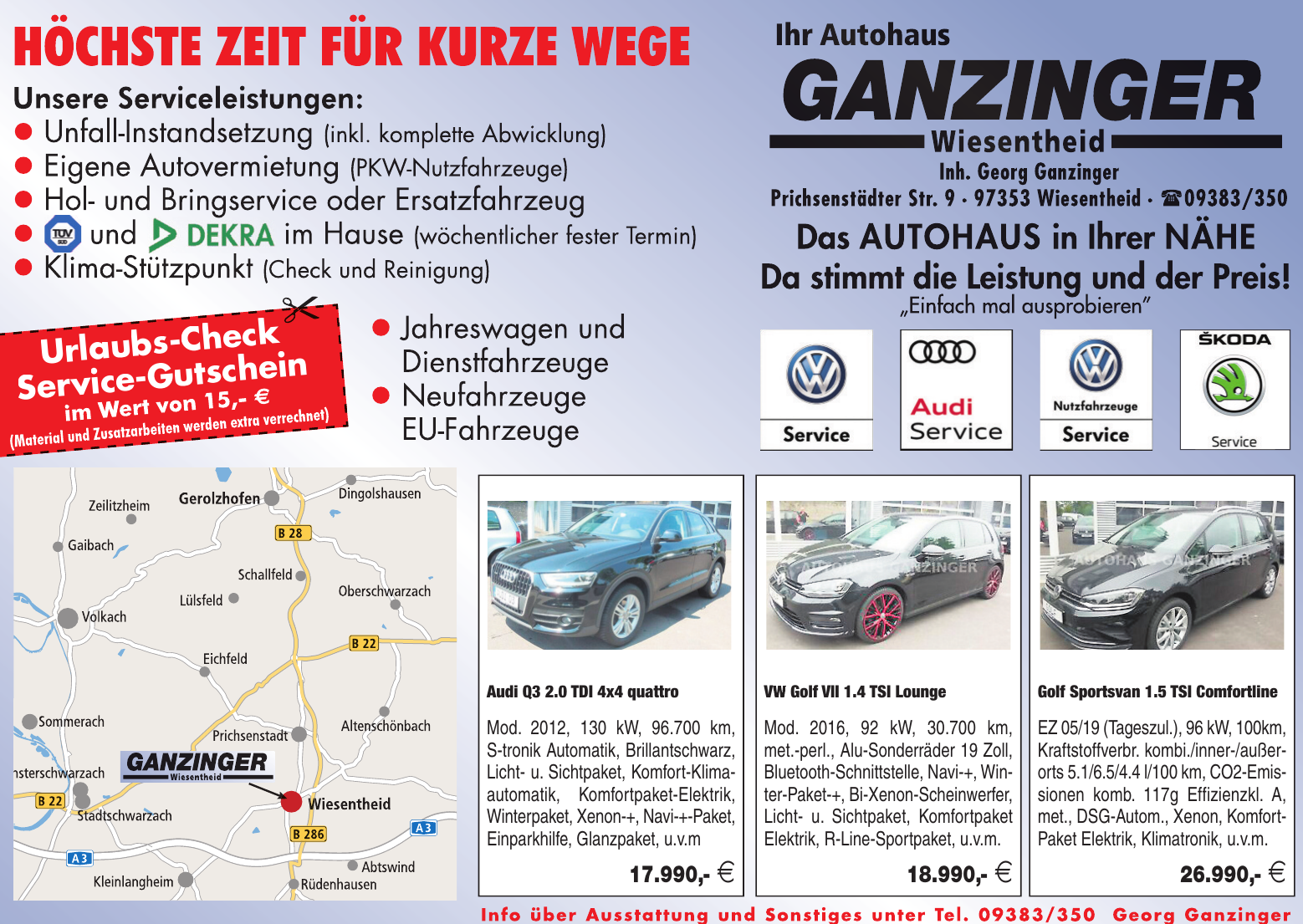 Autohaus Ganzinger Wiesentheid