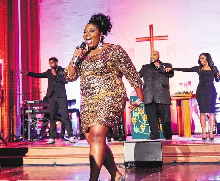 Die Stars des New York Gospels kommen am 2. Februar nach Wolfsburg.