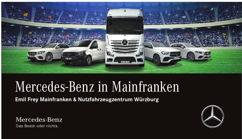 Mercedes-Benz in Mainfranken