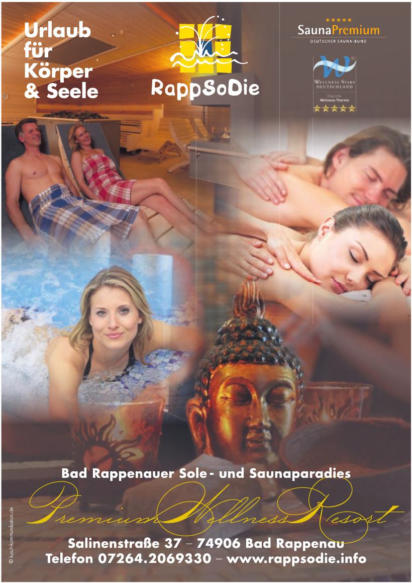 RappSoDie Bad Rappenauer Sole-, Wellness- und Saunaparadies