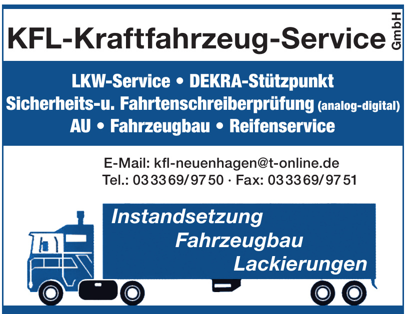 KFL-Kraftfahrzeug-Service GmbH