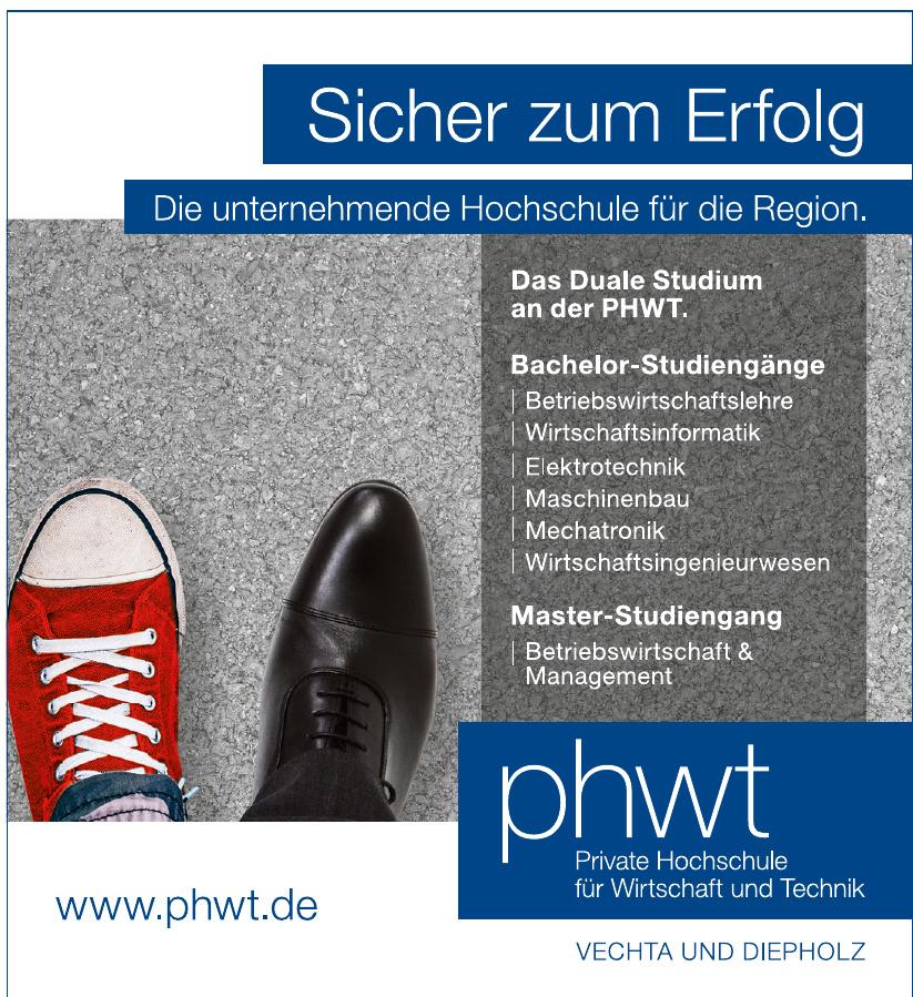 phwt Hochschule