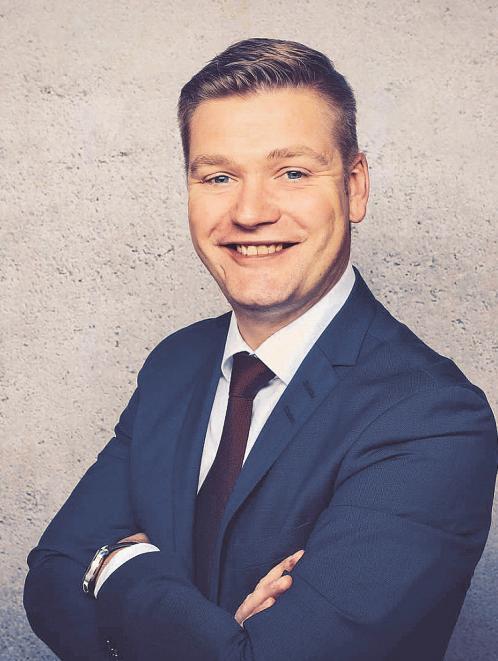 Patrick Lüllau, Bereichsdirektor Individualkunden