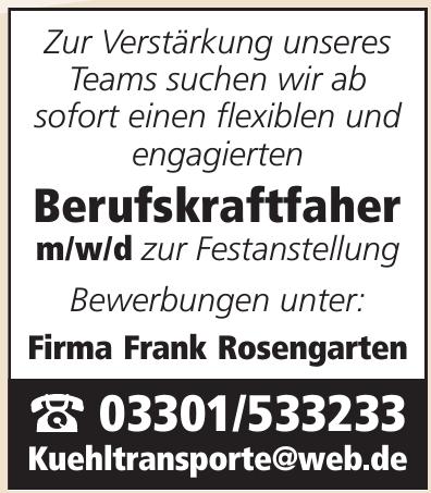 Firma Frank Rosengarten