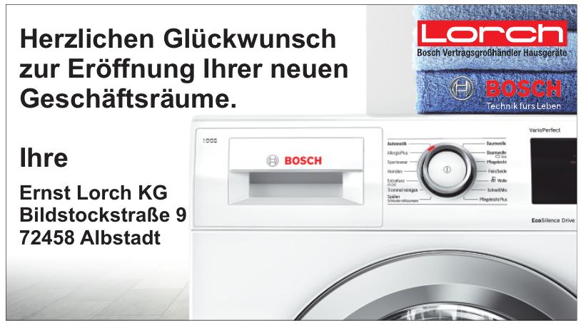 Ernst Lorch KG