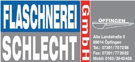 Flaschnerei Schlecht GmbH
