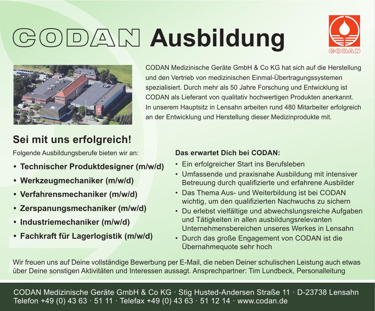 CODAN Medizinische Geräte GmbH & Co KG