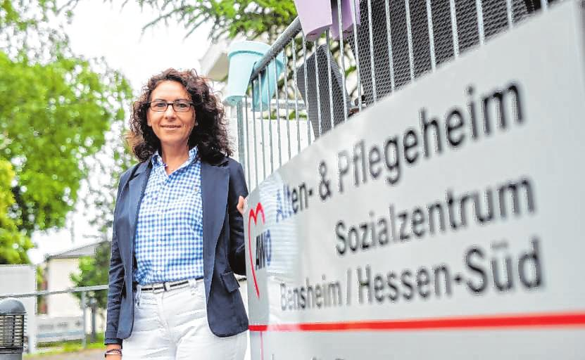 Tanja Eichelbaum, Betriebsleiterin des Awo-Sozialzentrums. | Bild: Thomas Neu