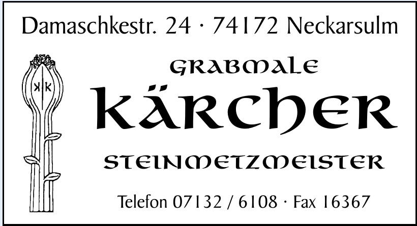 Grabmale Kärcher Steinmetzmeister