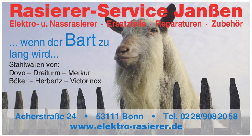 Rasierer-Service Janßen