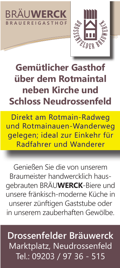 Drossenfelder Bräuwerck