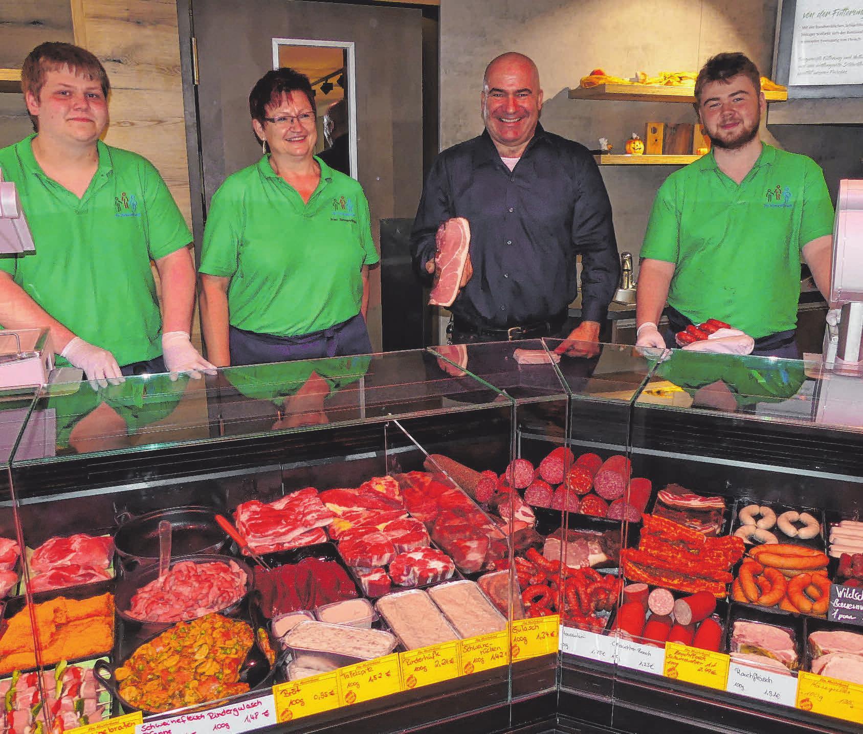 Auch Wurst und Fleisch sind regionale Produkte. FOTOS: KHB