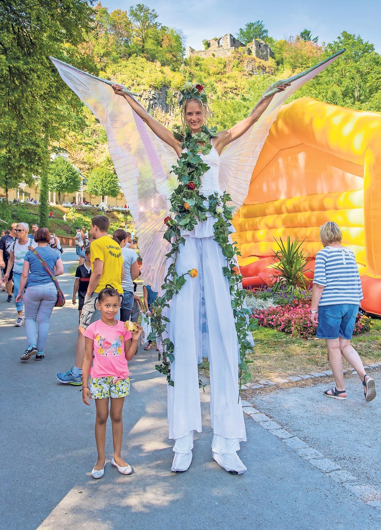 Die Kurstadt im Ölschnitztal lädt zum Sommerparkfest ein.