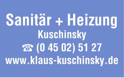 Sanitär + Heizung Kuschinsky