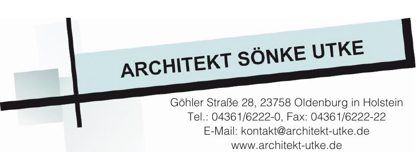 Architekt Sönke Utke