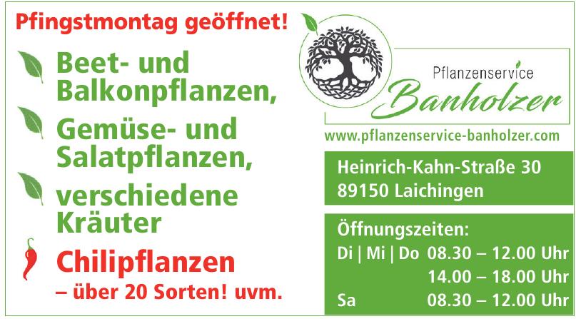 Pflanzenservice Banholzer