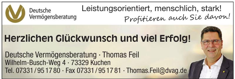 Deutsche Vermögensberatung · Thomas Feil