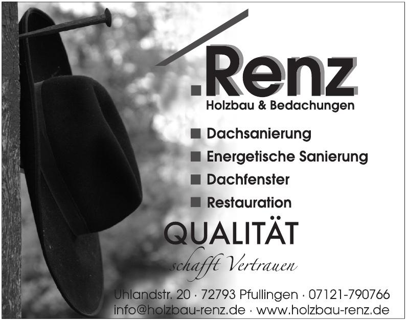 Renz Holzbau & Bedachungen