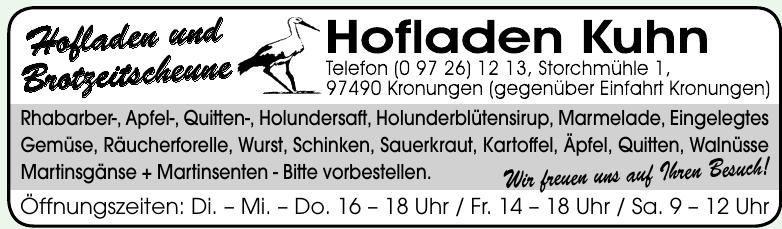 Hofland Kuhn